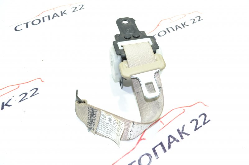 Ремень безопасности Toyota Corolla NZE121 1NZ 2001 задний (б/у)