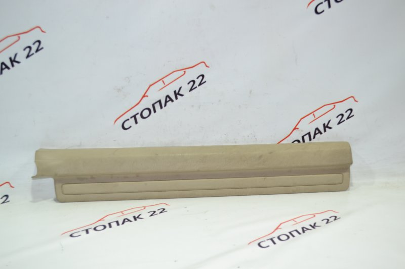 Накладка на порог Toyota Corolla NZE121 1NZ 2001 передняя правая (б/у)