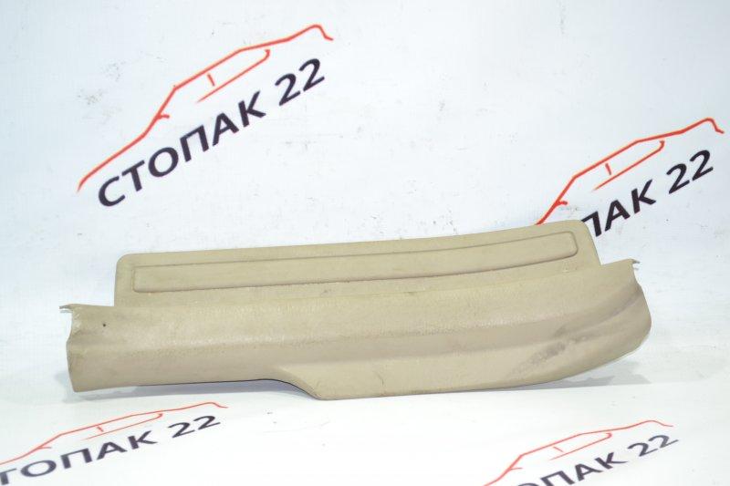 Накладка на порог Toyota Corolla NZE121 1NZ 2001 задняя правая (б/у)