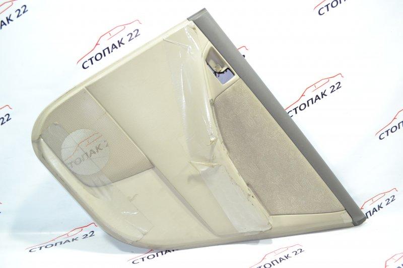 Обшивка двери Toyota Corolla NZE121 1NZ 2001 задняя правая (б/у)