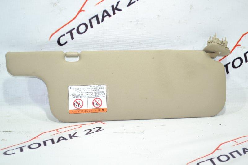 Козырек солнцезащитный Toyota Corolla NZE121 1NZ 2001 левый (б/у)