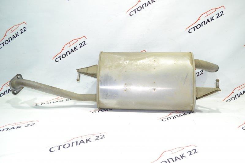 Глушитель бочка Toyota Corolla NZE121 1NZ 2001 (б/у)