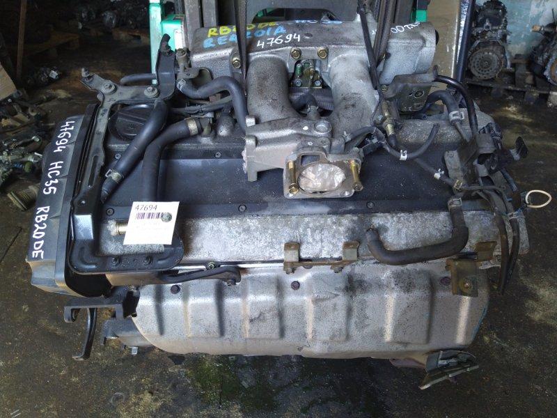 Двигатель Nissan Laurel HC35 RB20DE 1997 (б/у)