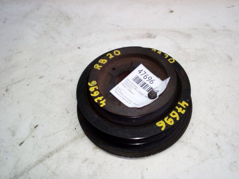 Шкив коленвала Nissan Laurel HC35 RB20DE 1997 (б/у)