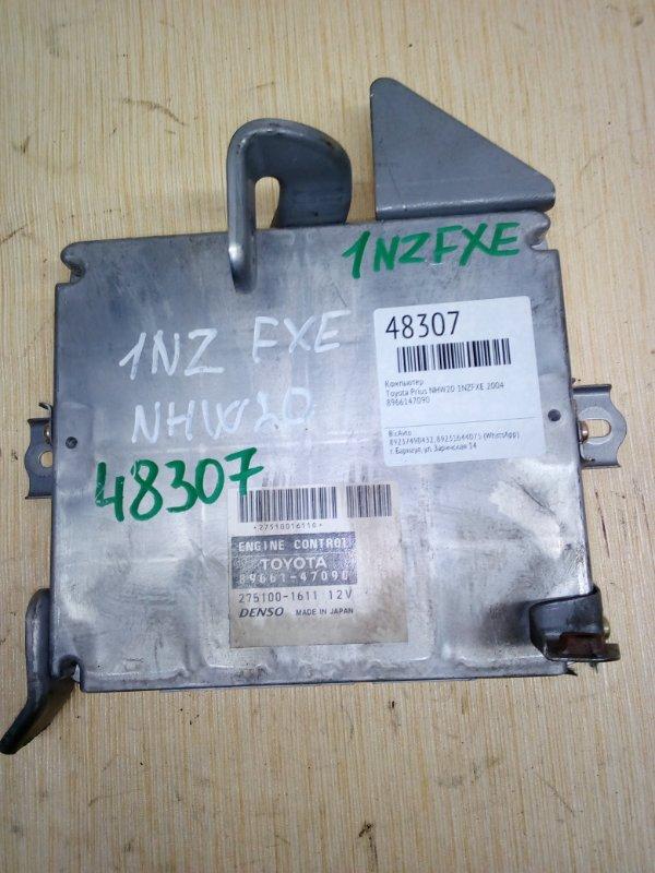 Компьютер Toyota Prius NHW20 1NZFXE 2004 (б/у)