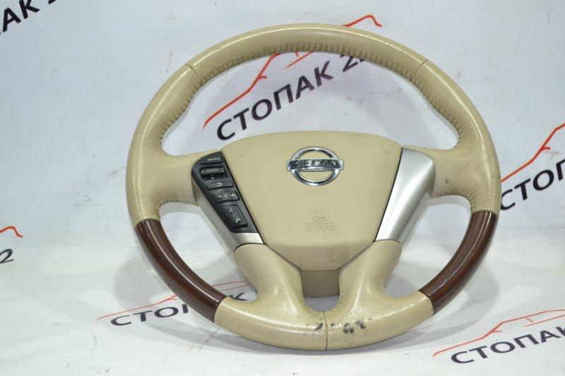 Подушка безопасности в руль Nissan Teana J32 VQ25 2008 (б/у)