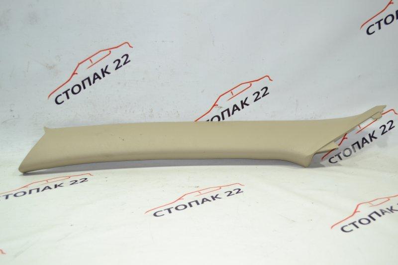 Накладка на стойку кузова Toyota Corolla NZE121 1NZ 2002 передняя левая верхняя (б/у)
