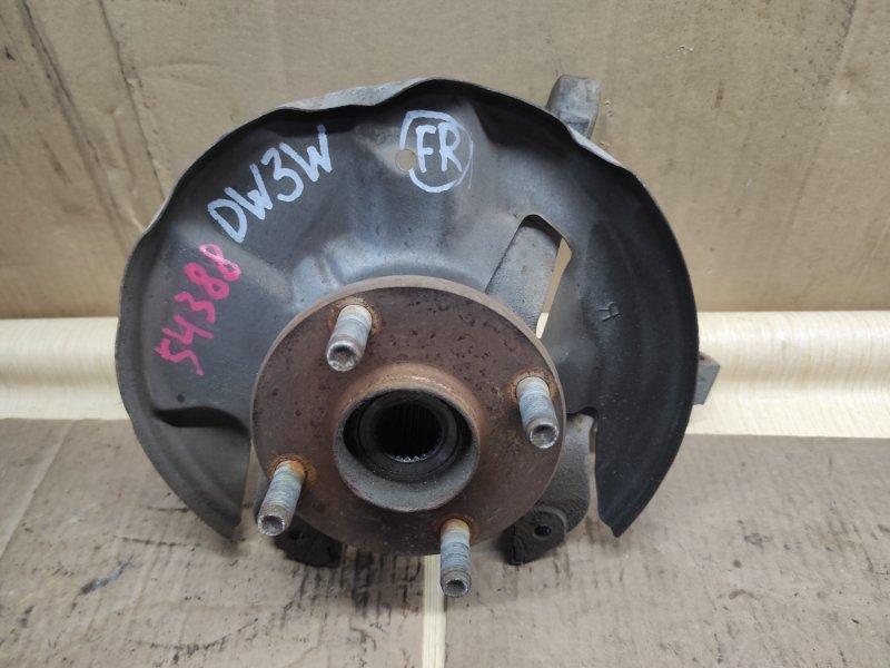 Ступица Mazda Demio DW3W B3 передняя правая (б/у)