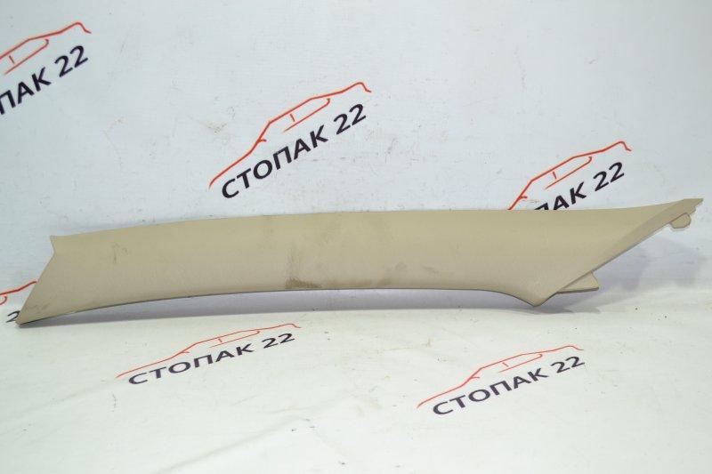 Накладка на стойку кузова Toyota Runx NZE121 1NZ 2004 передняя левая верхняя (б/у)