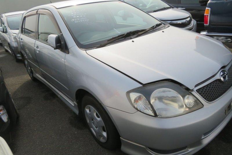 Автомобиль Toyota Runx NZE121 1NZ 2002 года в разбор