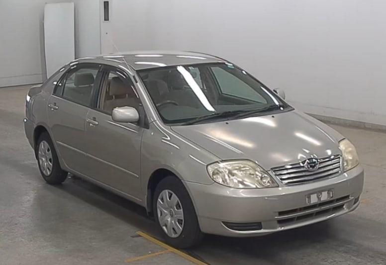 Автомобиль Toyota Corolla NZE121 1NZ 2002 года в разбор