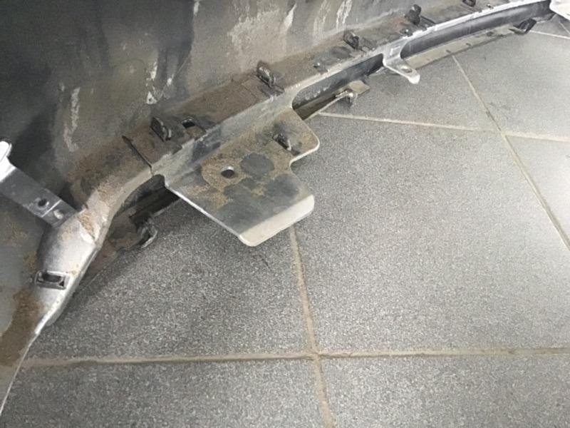 Накладка бампера задняя Toyota Fortuner II