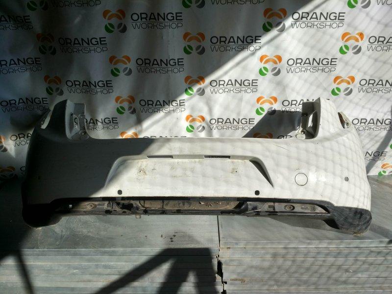 Бампер задний ( белый/дефект ) под датчики парковки Citroen C4 Aircross б/у