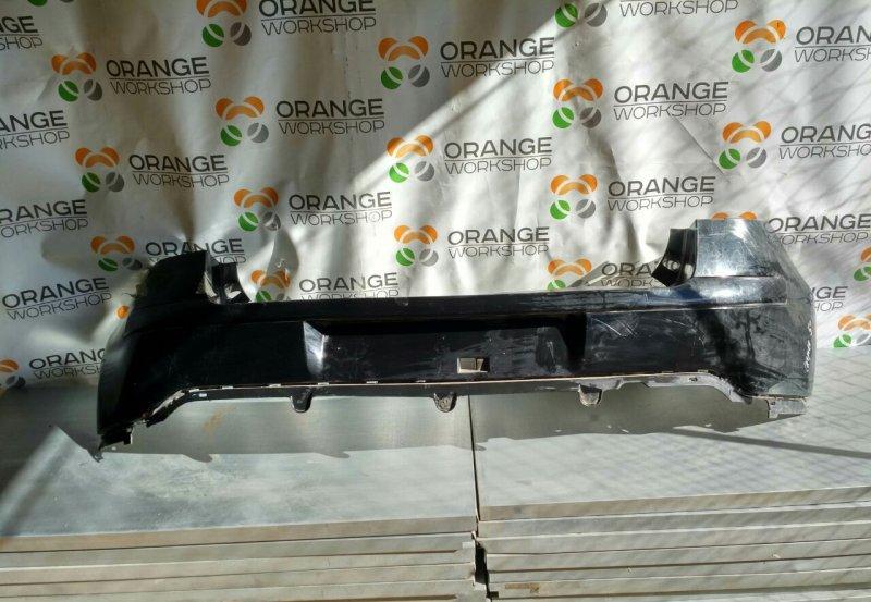 Бампер задний ( черный/ 3d) Citroen C4 05- б/у