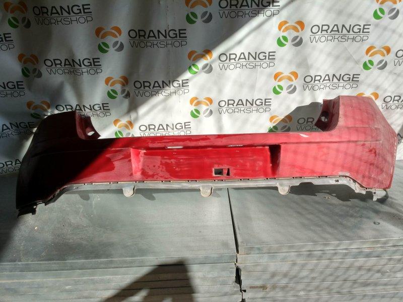 Бампер задний (красный) Citroen C4 05- б/у