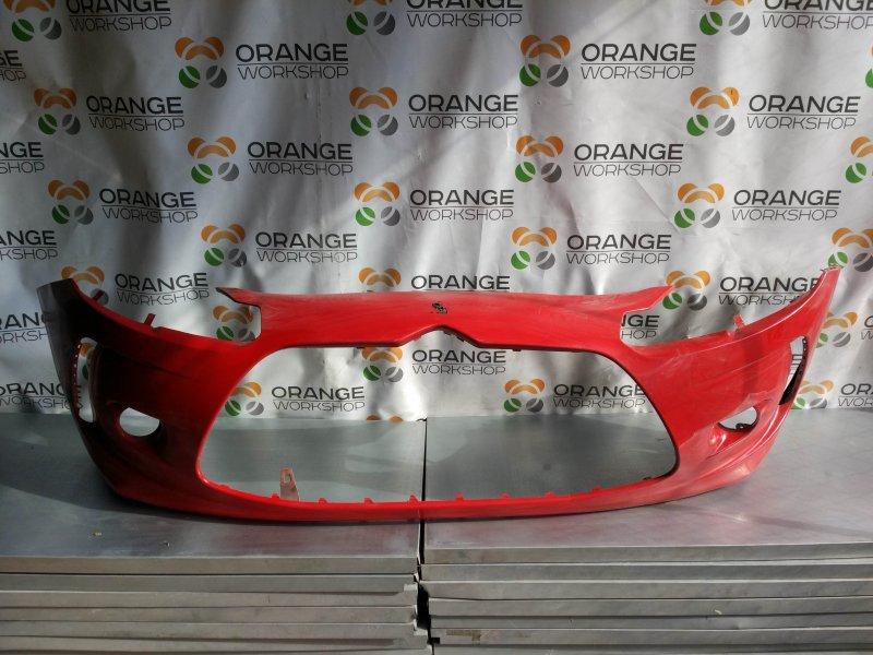 Бампер передний ( красный ) Citroen DS3 09- б/у