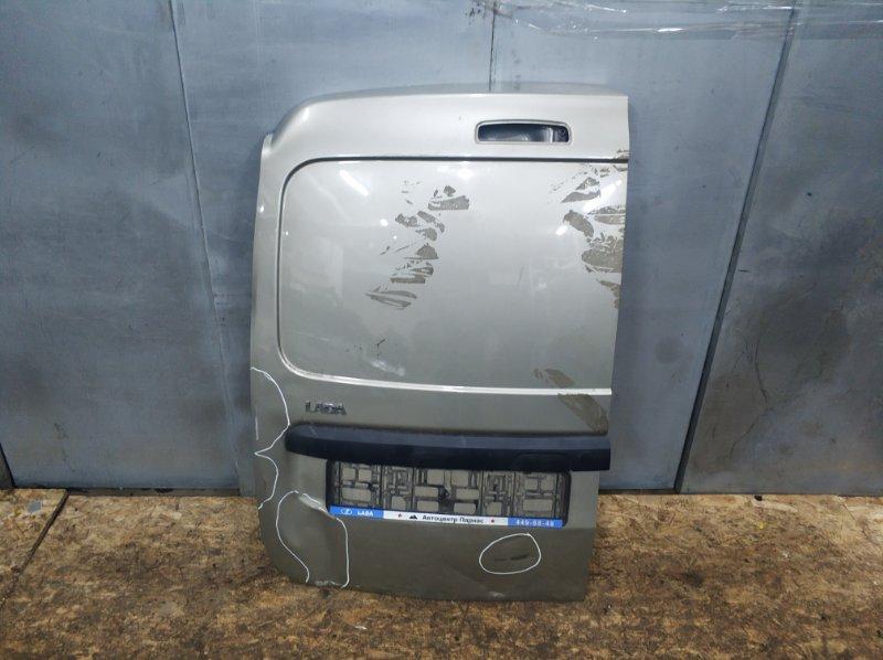Дверь багажника Lada Largus 2011 левая (б/у)