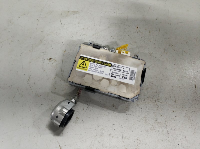 Блок ксеноновой лампы Land Rover Discovery 3 2.7 2004 (б/у)