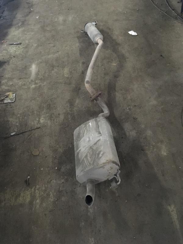 Глушитель в сборе Geely Emgrand 7 2011 (б/у)