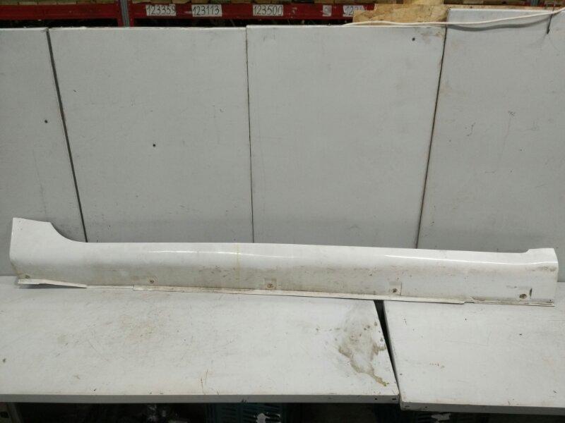 Накладка порога Geely Emgrand 7 2011 левая (б/у)