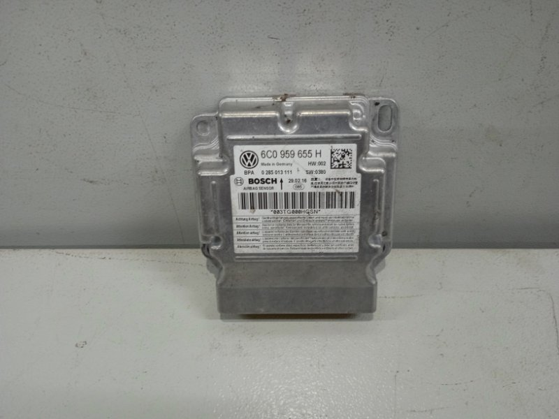 Блок управления air bag Skoda Rapid NH3 1.6 2012 (б/у)