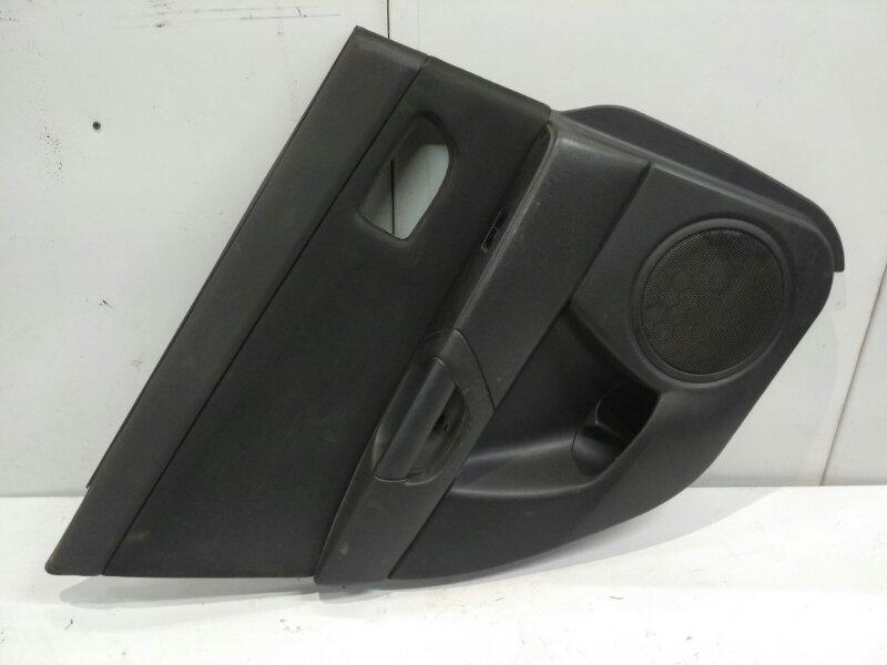 Обшивка двери Mazda 3 2002 задняя левая (б/у)