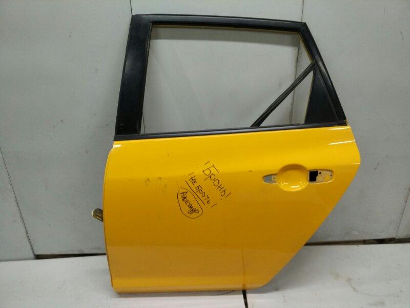 Дверь задняя левая Mazda 3 BK 2002 (б/у)