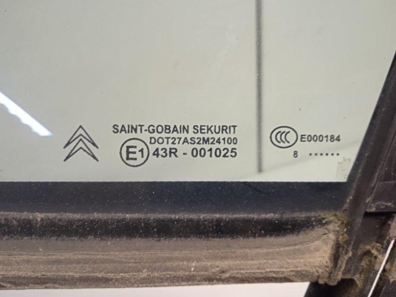 Стекло двери передней левой Citroen C4 LA EP6 1.6 120 2008 (б/у)