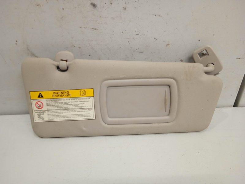 Козырек солнцезащитный Renault Fluence 1.6 2011 правый (б/у)