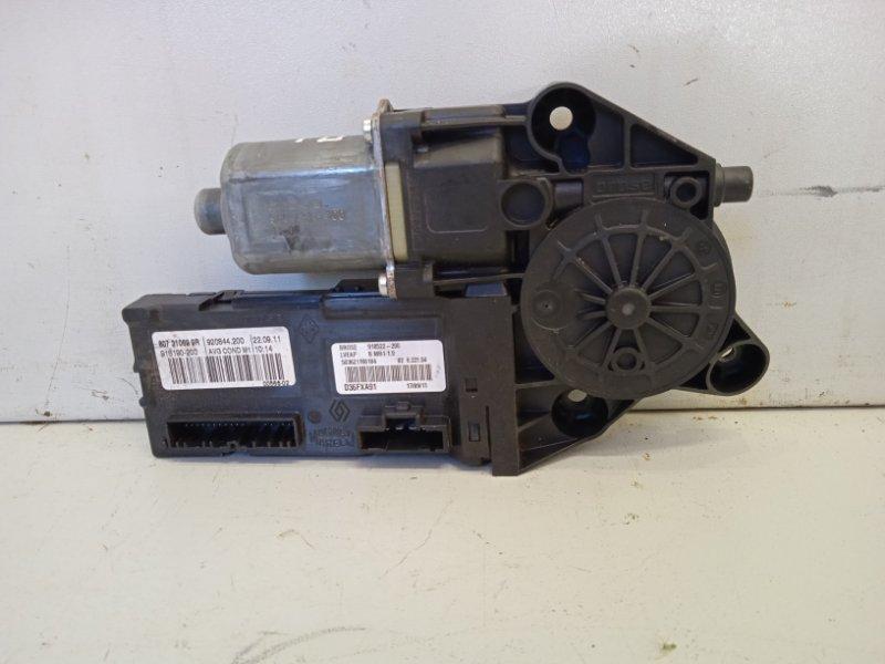 Моторчик стеклоподъемника Renault Fluence 1.6 2011 передний левый (б/у)