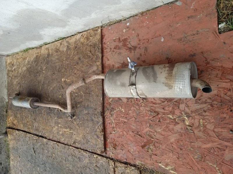 Глушитель в сборе Peugeot 308 4A/C 1.6 2009 (б/у)