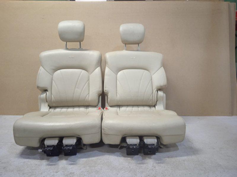Сиденье заднее Infiniti Qx56 Z62 VK56VD 2011 (б/у)