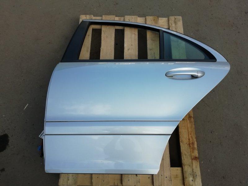 Дверь Mercedes C180 W203 1.8 2006 задняя левая (б/у)