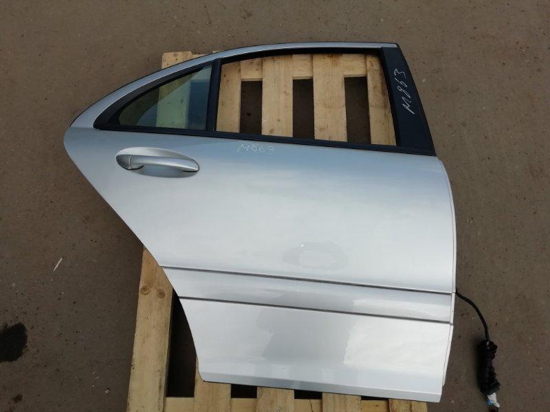Дверь Mercedes C180 W203 1.8 2006 задняя правая (б/у)