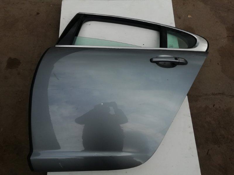 Дверь Jaguar Xf 3.0 D 2009 задняя левая (б/у)
