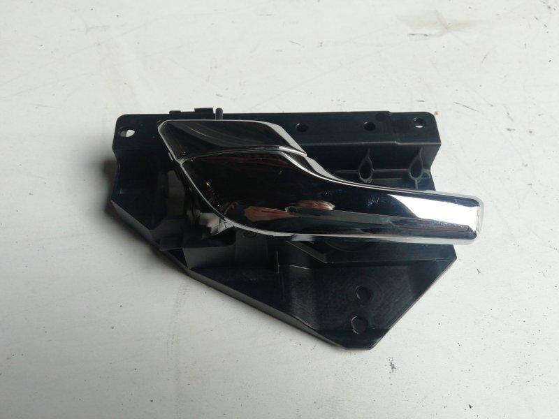 Ручка двери внутренняя Jaguar Xf 3.0 D 2009 задняя левая (б/у)
