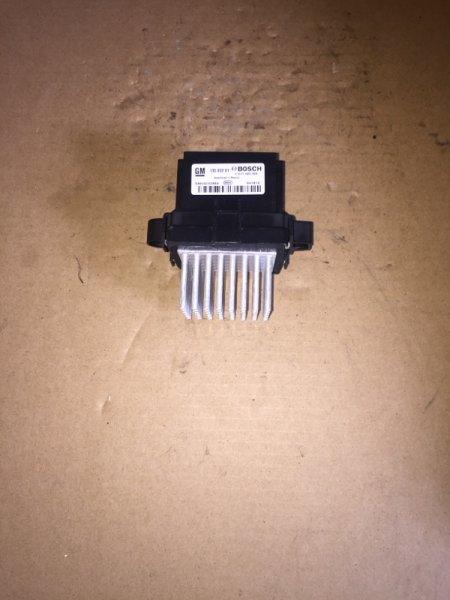 Резистор печки (отопителя) Opel Insignia 2.0 D 2012 (б/у)