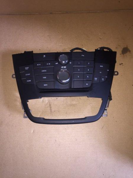 Блок управления магнитолой Opel Insignia 2.0 D 2012 (б/у)