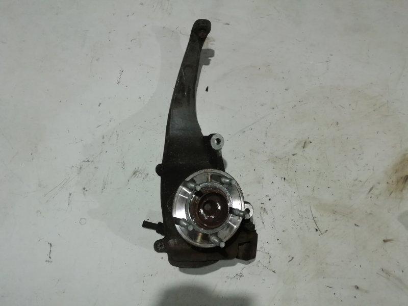 Кулак поворотный Jaguar Xf 3.0 D 2009 передний левый (б/у)