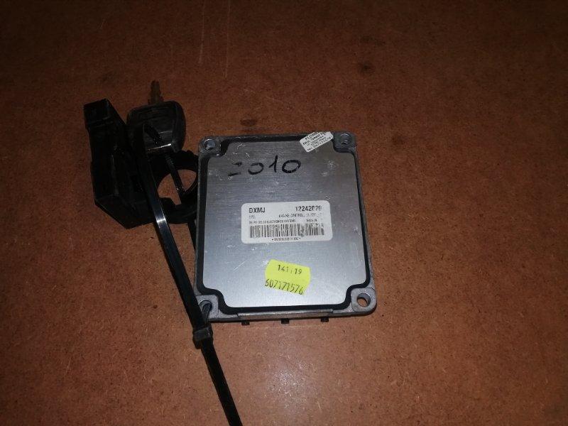 Блок управления двигателем Opel Astra G G 1.6 2003 (б/у)