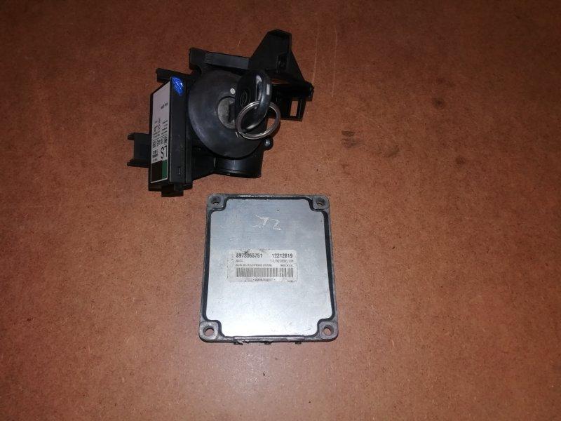 Блок управления двигателем Opel Zafira A 1.7DTI 2003 (б/у)
