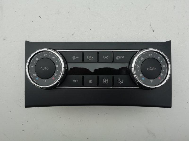Блок управления климат-контролем Mercedes C250 W204 1.8 2012 (б/у)