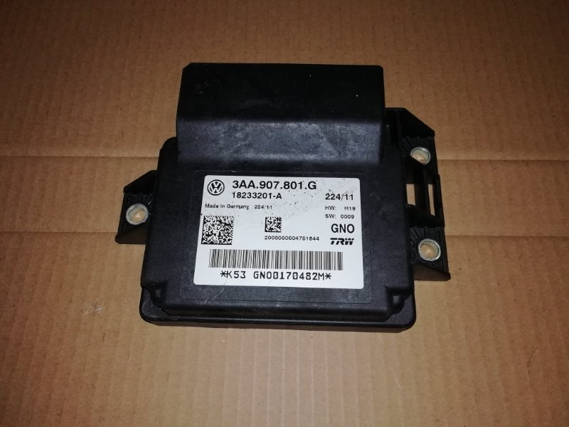 Блок управления стояночным тормозом Volkswagen Passat Cc 2.0 2012 (б/у)