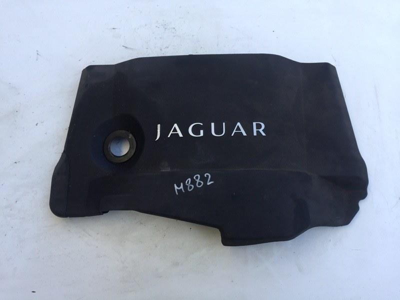 Крышка двигателя декоративная Jaguar Xf 3.0 D 2009 (б/у)