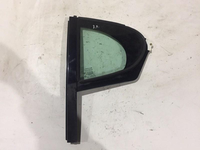 Форточка двери Jaguar Xf 3.0 D 2009 задняя левая (б/у)
