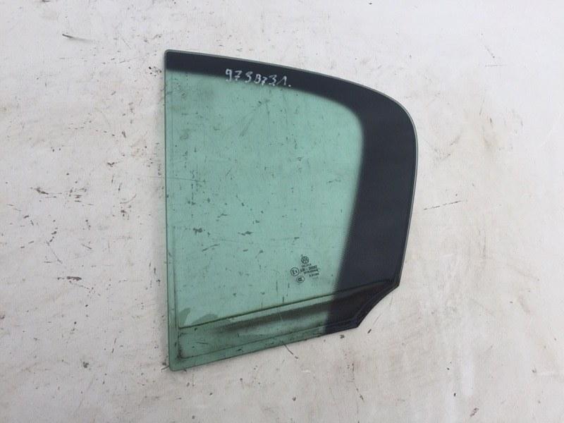 Форточка двери Volkswagen Passat B7 2.0 TDI задняя левая (б/у)