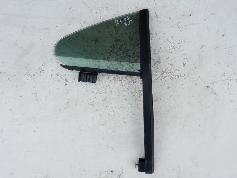 Форточка двери Volkswagen Passat Cc 2.0 TFSI задняя правая (б/у)