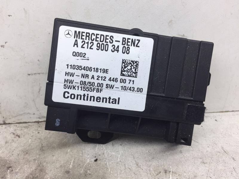 Блок управления насосом Mercedes C250 W204 1.8 2012 (б/у)
