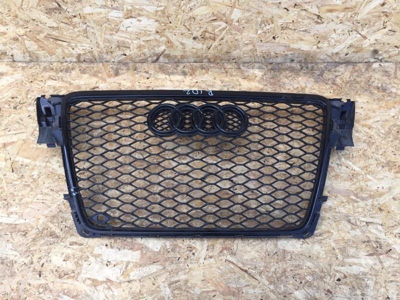 Решетка бампера Audi A4 2.0 TFSI передняя (б/у)