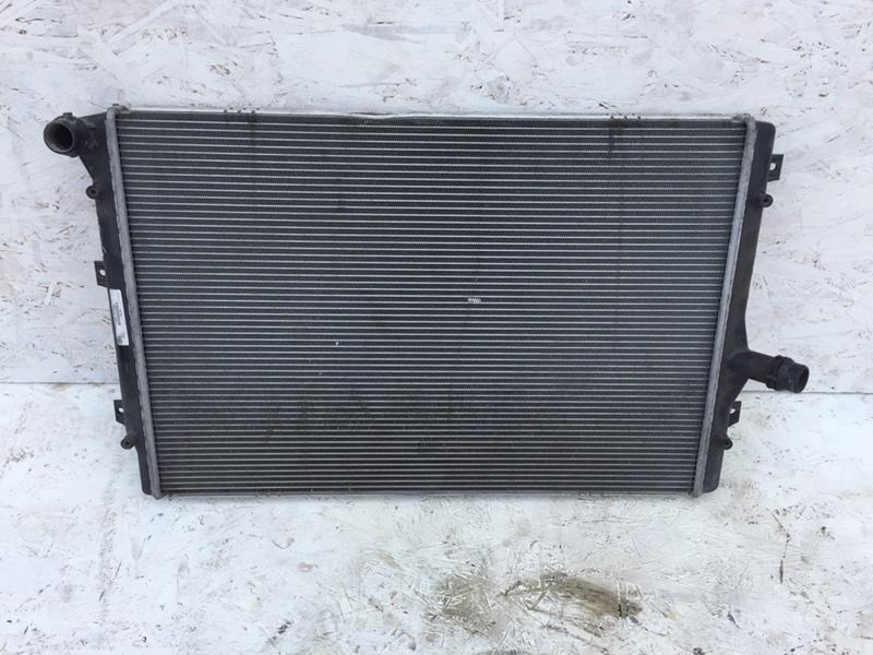 Радиатор двс Volkswagen Passat B7 (б/у)